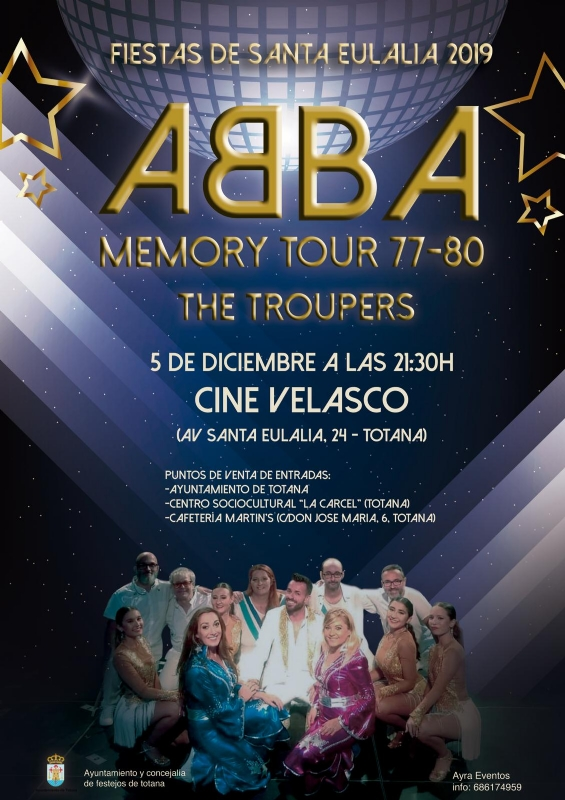 ABBA Memory Tour 77-80 The Troupers - 1