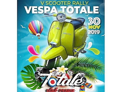 Scooter Rally Vespa Totale