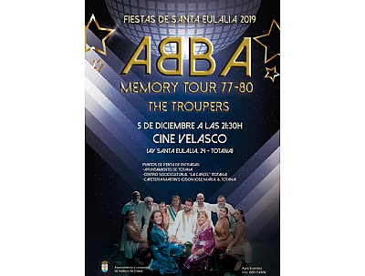 ABBA Memory Tour 77-80 The Troupers
